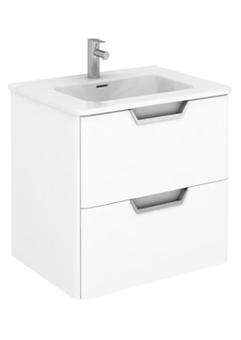 Related Life 600 x 450mm Two Drawers Wall Hung Vanity Unit
