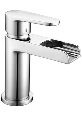 Related Frontline Ballini Waterfall Basin Mixer Tap With Click-Clack Waste