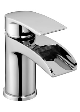 Related Frontline Flo Waterfall Basin Mixer Tap With Click Clack Waste