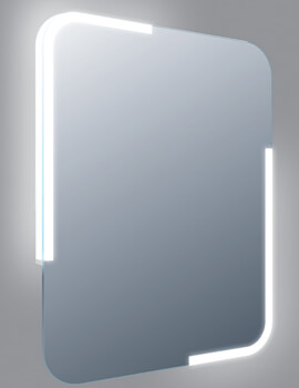 Related Frontline Curve 600 x 800mm LED Mirror With Sensor And Demister Pad