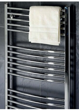 Related Towelrads Pisa 450mm Wide Curved Towel Rail - More Heights Available