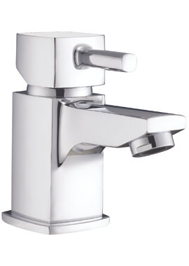 Related Frontline Cubic Mini Basin Mixer Tap With Click-Clack Waste