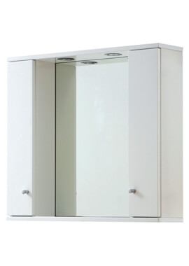 Related Frontline 850 x 700mm LED Illuminated Mirrored Cabinet