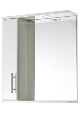 Related Frontline 600 x 700mm LED Illuminated Mirrored Cabinet