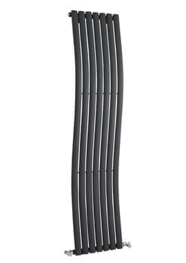 Related Wave 413 x 1800mm Anthracite Designer Radiator