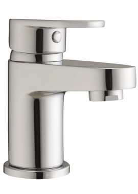 Related Frontline Sphere Mini Basin Mixer Tap With Click Clack Waste