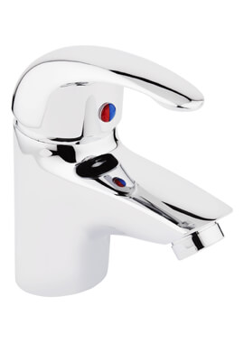 Related Frontline Compact Basin Mixer Tap With Click Clack Waste