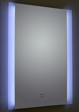 Related Frontline Ashbourne  Mirror With LED Frosted Side Lights - BEMBK-01-5X7