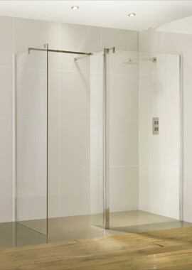 Related Frontline Aquaglass Purity 6mm Straight Walk-In Front Panel