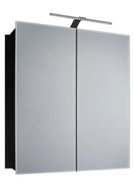 Related Frontline Howden Double Door Aluminium Mirrored Cabinet - BEJOKEY-6060