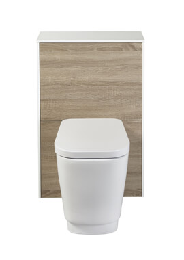Related Frontline Aquanatural WC Unit With Bellisi BTW WC With Cistern And Soft Close Seat