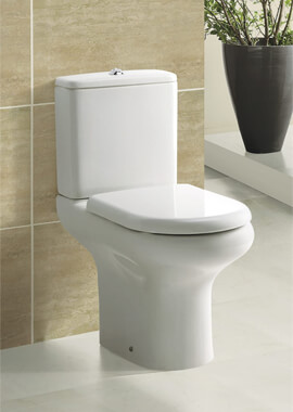 Related Frontline Compact WC With Standard Toilet Seat