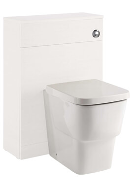 Related Vitale 600 x 250mm Back To Wall Gloss White Toilet Unit