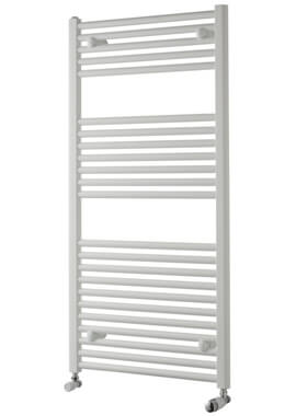 Related Towelrads Pisa 500mm Wide White Straight Towel Rail
