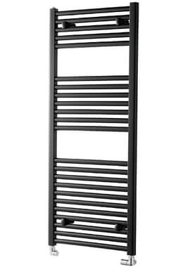 Related Towelrads Pisa 600mm Wide Black Straight Towel Rail