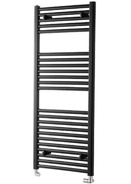 Related Towelrads Pisa 500mm Wide Black Straight Towel Rail
