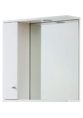 Related Frontline 750 x 700 LED Illuminated Mirrored Cabinet