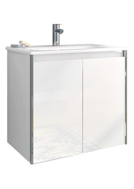 Related Valencia 600 x 430mm Two Doors Wall-Hung Vanity Unit With Basin