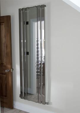 Related Towelrads Newbury 600 x 1800mm Designer Radiator With Mirror